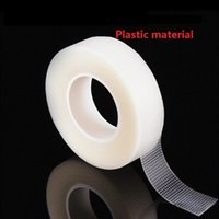 Wholesale Eyelash Extensions Tape - 6rolls Eye Pad Eyelashes Extension under Patch Makeup Tool Individual False Eyelash PE and Non-woven wrap tape Tool
