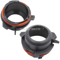 Wholesale Series Hid Bulb - car 2x Xenon H7 HID Bulb Holders Adapters Base For BMW 3 Series E39-2A 5 Series 528 525