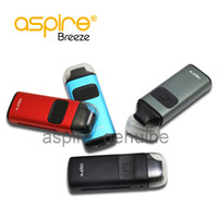 Wholesale Auto Tech - 100% original Aspire Breeze Kit 2ML Ejuice 650mAh Battery U-tech 0.6ohm Coil Top Fill Auto-fire Feature Package Excluding Charger Dock