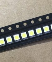 1w führte perlen großhandel-Wholesale-50PCS / Lot 3528 2835 3V SMD LED Korne 1W LG kaltes Weiß 100LM für Fernsehapparat / LCD-Hintergrundbeleuchtung