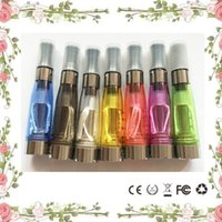 CE4 Atomizer Clearomizer avec CE Mark 1.6ml pour eGo-T Battery E Cigarette Cartomizer 8 couleurs High Quality Instock Fast Shipping CE4 Tanks