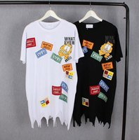 Wholesale Korean Clothes For Women - 2017 Summer T Shirt For Women Korean Version Fashion Loose Print Round Neck Plus Size Short-Sleeved Long Women Clothing