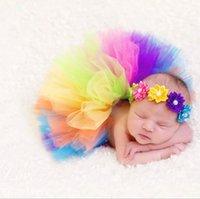ingrosso immagini baby tutus-nuova fotografia per bambini vestiti neonato coniglietto tutu gonna tutu gonna studio immagini
