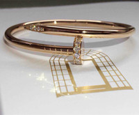 Wholesale Europe Bracelets - Mark male fashion in Europe and America rose gold, platinum gold bracelet south Korean actress couple's birthday present