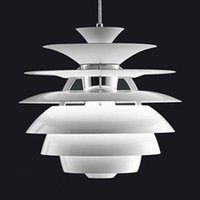 Wholesale Louis Poulsen Snowball - Louis Poulsen Snowball Ceiling Light Pendant Lamp Modern Bedroom Study Head Bed LED Pendant Droplight Denmark Louis Poulsen PH5 Series