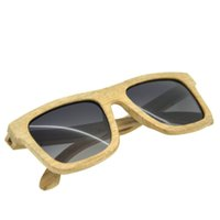 Wholesale Gift Wooden Products - Free Shipping New Fashion Products Men Women Glass Wooden Sunglasses Retro Vintage Wood Lens Wooden Frame Handmade Romantic Gifts
