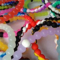 Wholesale Silicone Bracelet Mix Color - New style Mixed color faith beads silicone bracelet high quality through silicone bracelet in stock 60 colors DHL shipping