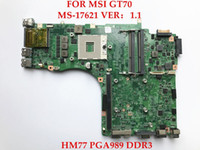 Wholesale Msi Laptop Motherboards - original for MSI GT70 laptop MS-17621 HM77 PGA989 DDR3 Non-integrated motherboard ,fully tested