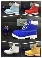 Wholesale Gold Shoes Mid Heel - Hot Sale Winter White Snow Boots Classic 10061 High Ankle Women Mens Cow Leather Fashion Outdoor Work Casual Shoes