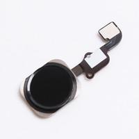 черный кабель оптовых-Новый сенсорный датчик главная кнопка ключа Flex кабель замена для iPhone 6S 6S плюс 5,5