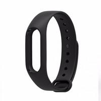 Wholesale Band Sensor - Wholesale-New 1pcs Replace Watch Strap Silicone Wristband for Xiaomi Mi Band 2 Smart Bracelet Watch Band for Mi Band 2 No Sensor