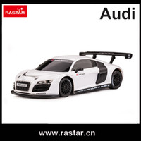 Wholesale R C Models - Wholesale- Rastar licensed R C 1:24 AUDI R8 rc drift car auto racing model track vehicle 46800