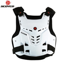 Wholesale Motocross Safety Gear - SCOYCO AM05 armor motorcycle armor gear gray protective armor clothing Motocross Body Armor Safety Jackets Motorbike armor