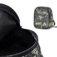 Mini portátil Pequena Pesca Tackle Bags Outdoor Sport Multifuncional Pesca Spinning Reel Waist Bag Fly Reel Pouch Storage Camouflage