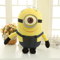 Wholesale Despicable Minion Plush 3d - 161129 New Film Despicable Me 3D  Minions Big Plush Dolls Give The Gift To The Child