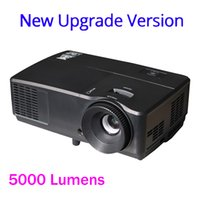 Wholesale Pressure Mercury - Wholesale-5000 lumens Projector 1024x768 with replacable bulbs Ultrahigh Pressure Mercury Lamp support Full HD 1080P VGA