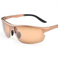Wholesale Drivers Glasses - Wholesale- TR90 Polarized Sunglasses Men's Driver Sun glass UV400 Fashion Brand Designer Fashion Sunglasses Men Eyewear