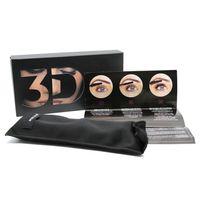 Wholesale Double Mascara - Younique Mascara 3D Fiber Lashes Mascara Moodstruck Waterproof Double 3D FIBER LASHES Eyelash Makeup Set