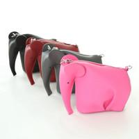 neue frühlingstaschen großhandel-Mode Elefant Form Messenger Bags Frauen Schultertasche Kleine Reißverschluss Design Frühling Sommer Lady Handtaschen Neuheiten Tierbeutel