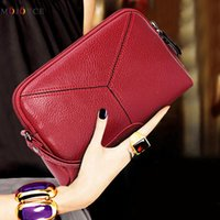 Wholesale Wholesale Designer Hand Bags - 2017 women hand bags Leather wallet High quality Mobile phone Bank card Cosmetic bag Top brand designer