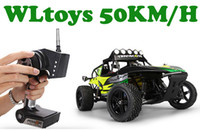 Wholesale Radio Control Off Road - Wholesale- 1 12 Electric RC car 4WD trucks drive the high speed radio control shaft, RC Car Off Road Climbing car