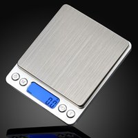 Wholesale Weight Scale Oz - 2000g x 0.1g Digital Pocket Scale Jewelry Weight Electronic Balance Scale g oz ct gn Precision Scales YB183-SZ