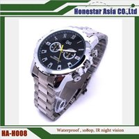 Wholesale Max Watch - Hot selling Steel Band spy watch camera 1920*1080 MAX support 32GB with IR night vision function