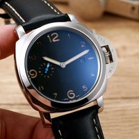 Wholesale Italian Brand Glasses - Top brand luxury men's watches Swiss imports of Italian leather table metal mineral tempered glass automatic mechanical classic avant-garde