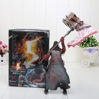 Wholesale Neca Toys Resident Evil - Wholesale- New NECA Resident Evil 8 inch Biohazard Executioner Majini Action Figure Toys Child Figures Birthday Gift