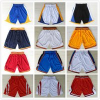 Wholesale Grey Sweatpants - Basketball Shorts Men's Shorts New Breathable Sweatpants Teams Classic Sportswear Basketball Mens movie Tune Squad Space Jam Shorts