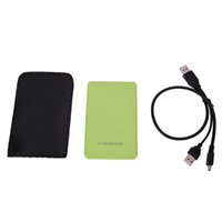 Wholesale ide inch casing online - USB Inch IDE HD Hard Disk Drive HDD External Case Enclosure Box up GB For Mac OS Notebook Laptop PC Price