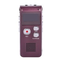 Wholesale Red Hot Recorder - Wholesale- 8GB Brand Spy Mini USB Flash Digital Audio Voice Recorder 650Hr Dictaphone MP3 Player Pen Drive Grabadora Hot Sale