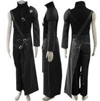 Wholesale Male Fantasies - Final Fantasy VII Cloud Cosplay Costume Zaxs includes 5 accessories