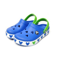 Wholesale Slippers For Boys - Children Sandals Beach Shoes For Girls Boys Kids Rubber Mules Clogs Summer Shoes Breathable Outdoor Slippers Children's Footwear