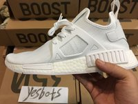 Wholesale Dhl Men Shoes - NEW real pics DHL FREE NMD XR1 Fall Olive green Sneakers Women Men Youth Running Shoes