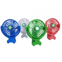 Wholesale Usb Foldable Fan - Handy Usb Fan Foldable Handle Mini Charging Electric Fans Snowflake Handheld Portable For Home Office Gifts Retail Box DHL