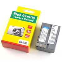 Wholesale En El3a - 2200mAh EN-EL3e Digital EN-EL3a EN EL3e EL3a ENEL3e Camera Battery for Nikon D300S D300 D100 D200 D700 D70S D80 D90 D50 MH-18A