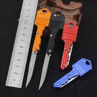 Wholesale Swiss Keys - Folding knife self-defense outdoor multifunctional key survival knife Mini Swiss Army knife