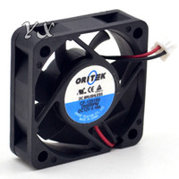 Wholesale Dual Cf - free shipping high quality Original ORITEK CF-12515S 5 0.18A 12V wire 50152 cooling fan cm