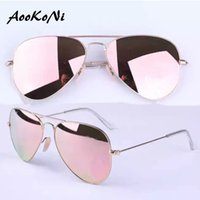 Wholesale Men Accessories Sale - AOOKO Wholesale Hot Sale Gafas Style Mirror glass polarized Sun Glasse oculos de sol FEMININO UV400 Men Women Sunglasses full accessories