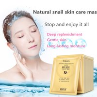 Wholesale Oil Control Face Wash - 2016 Hot Sale Real Face Moisturising Anti-aging 10 Snail Stock Liquid Silk Mask Moisturizing Whitening Clean Shrink Pores Wash Men And Women