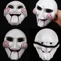 Wholesale Christmas Diy Masquerade Masks - Chainsaw Killer Theme Masquerade Masks Halloween DIY Gift Halloween Cosplay Costume Funny Full Face Mask Nice Quality