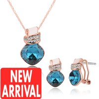 Wholesale Cheap Onyx - Earrings & Necklace Jewelry earrings Gold necklace for women New Arrival Wholesale Discount Fashion Brands Designer Online Store Cheap Price