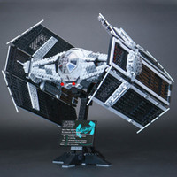 Wholesale Lepin Star War Series The Rogue One USC Vader TIE Advanced Fighter Set Building Blocks Bricks Educational Toys