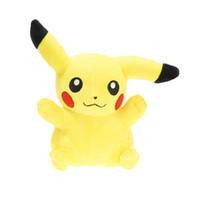 Wholesale 8 Inch Smile Anime Pikachu Plush Soft Doll Kids Children Cartoon Poke Model Toy Collectible Gift