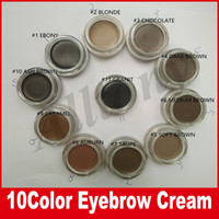 blonde types - Hot Eyebrow Gel Long Lasting Eyebrow Cream Makeup Eyebrows Cosmetics Colors ASH BROWN BLONDE CARAMEL DARK EBONY MEDIUM BROWN CHOCOLATE