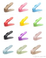 Wholesale Shoes Stand Double - AdjustableHome Use Shoe Racks Modern Double Cleaning Storage Shoes Rack Living Room Convenient Shoebox Shoes Organizer Stand Shelf