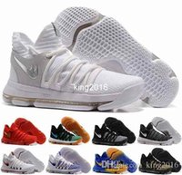 Wholesale Pearl Cream Day - KD 10 X Men Basketball Shoes Homme White Tennis BHM Kevin Durant KD10 10s Kds Elite Floral Aunt Pearls Easter Sport Sneakers Shoe