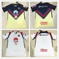 Soccer Men Short Club America 17-18 Top Soccer Jerseys Home Away White Customized  Shirt 3a99d2e84