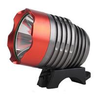 ingrosso pacchetti di batterie per biciclette-T6 LED per bicicletta luce faro faro con batteria e caricabatterie Set completo per campeggio, escursionismo, sport all'aria aperta